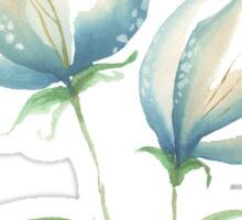 Blue flowers B Sticker