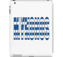 Mykonos. iPad Case/Skin