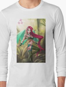 Pin-up MLP Fluttershy Long Sleeve T-Shirt