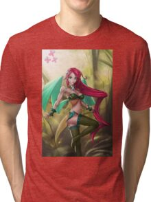 Pin-up MLP Fluttershy Tri-blend T-Shirt