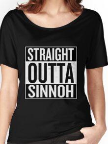 Straight Outta Sinnoh Women's Relaxed Fit T-Shirt