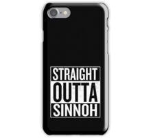 Straight Outta Sinnoh iPhone Case/Skin