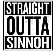 Straight Outta Sinnoh Photographic Print