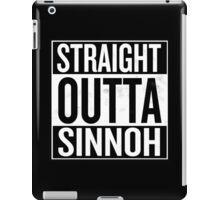 Straight Outta Sinnoh iPad Case/Skin
