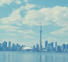 Toronto Skyline by Ruta Rudminaite