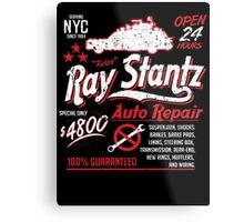 Ray Stantz Auto Repair Metal Print