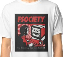 MR ROBOT - FSOCIETY Classic T-Shirt
