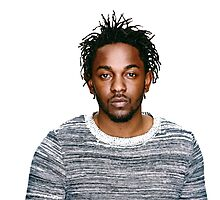 In love with Kendrick Lamar Photographic Print