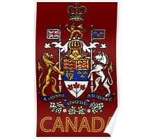 Coat of Arms of Canada Poster