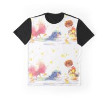 A Mermaid In A Puddle  Graphic T-Shirt