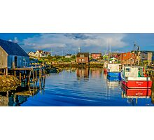 Peaceful Evening at Peggys Cove Photographic Print