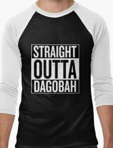 Straight Outta Dagobah Men's Baseball ¾ T-Shirt