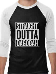 Straight Outta Dagobah Men's Baseball ¾ T-Shirt