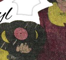 I heart Vinyl Sticker