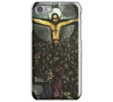 Jesus in the style of Chagall iPhone Case/Skin