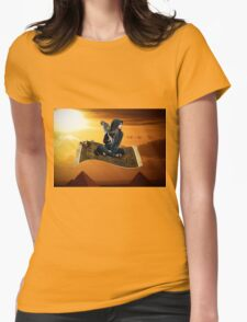 Magic Carpet Ride Womens Fitted T-Shirt