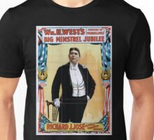 Performing Arts Posters Wm H Wests Big Minstrel Jubilee formerly of Primrose West 1883 Unisex T-Shirt