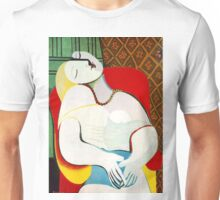 Dream in the style of picasso - 3 Unisex T-Shirt