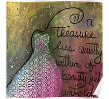 Treasure Lies Within Poster
