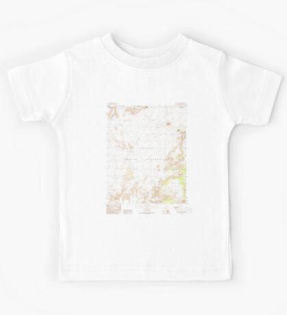 USGS TOPO Map Arizona AZ Mystery Valley 312580 1988 24000 Kids Tee