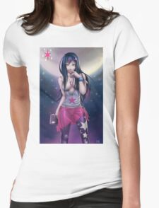 Pin-up MLP Twilight Sparkle Womens Fitted T-Shirt