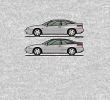 Subaru Alcyone SVX Duo Liquid Silver Unisex T-Shirt