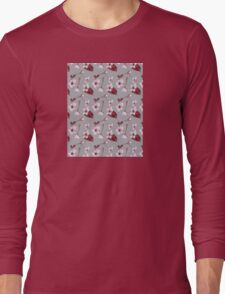 Blossoms Blowing Long Sleeve T-Shirt