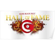 Seieido Elite Hall of Fame Shirt Poster