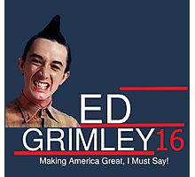 ED Grimley 2016 Photographic Print