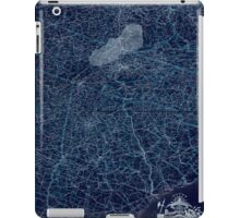 0207 Railroad Maps Boones map of the Black Diamond System of Railways J D McKisson del Perysville Inverted iPad Case/Skin