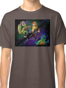 TMNT April and Karai Classic T-Shirt