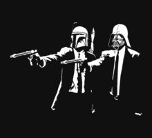 darth vader and boba fett pulp fiction by Alex117j