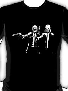 darth vader and boba fett pulp fiction T-Shirt