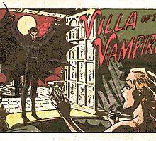 Villa of the Vampire Comic by Rachel Flanagan