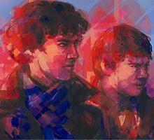 Sherlock - With John by Sempaiko