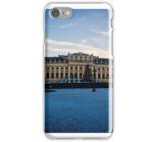 Schönbrunn Palace in Winter iPhone Case/Skin