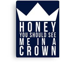 Jim Moriarty Quote Canvas Print
