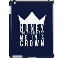 Jim Moriarty Quote iPad Case/Skin