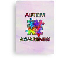 Autism Awareness Metal Print
