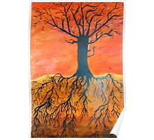 Ink tree (Cross-section) Poster