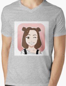 Dodie Clark Chibi Mens V-Neck T-Shirt
