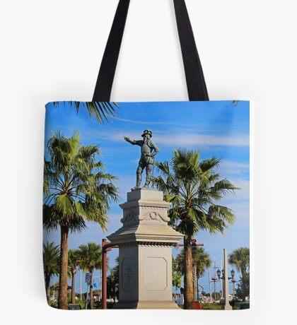 Juan Ponce de Leon Tote Bag