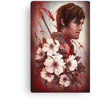 Daryl - Cherokee Rose Studies Canvas Print