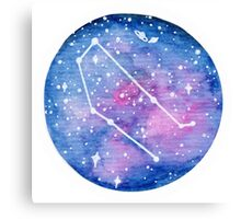 Gemini Constellation Canvas Print