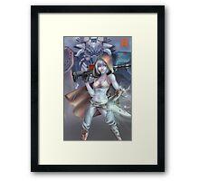 Destiny Bishoujo Hunter Framed Print