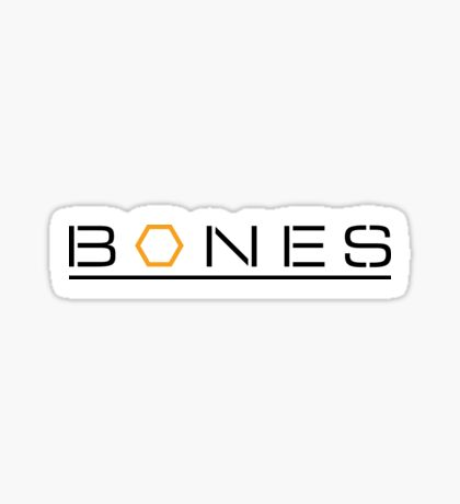 Bones Logo Sticker