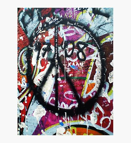 Berlin Wall Peace Photographic Print