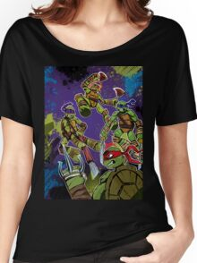 TMNT Team Women's Relaxed Fit T-Shirt