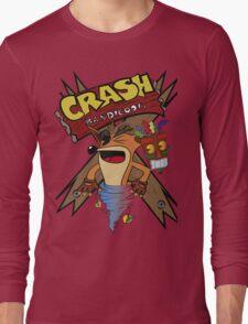 Old Timey Crash Bandicoot Long Sleeve T-Shirt