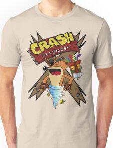 Old Timey Crash Bandicoot Unisex T-Shirt